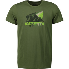 Icepeak Dickson T-Shirt Men, Oliva